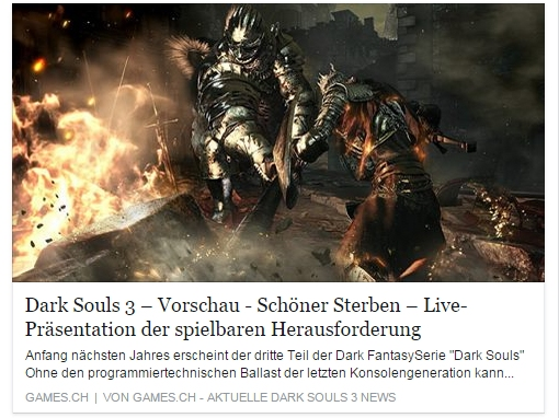 Dark Souls 3 Vorschau - Schöner Sterben