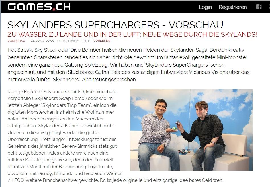 Skylanders Superchargers - Zu Wasser, zu Lande und in der Luft - Vorschau