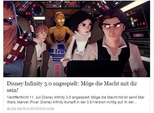 Ulrich Wimmeroth - Disney Infinity 3.0 Vorschau - PlayStation Blog