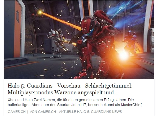 Ulrich Wimmeroth - Halo Guardians Warzone - games.ch