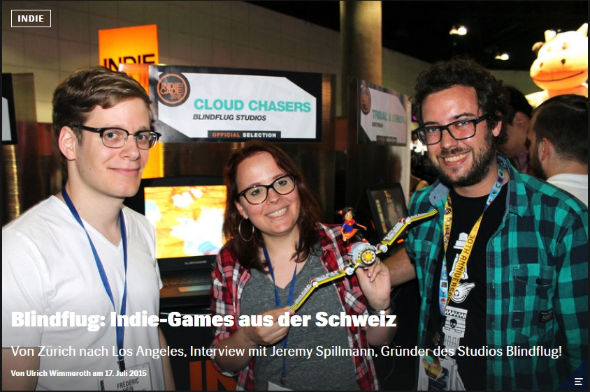 Ulrich Wimmeroth - Indie-Entwickler Blindflug Studios - Red Bull Games
