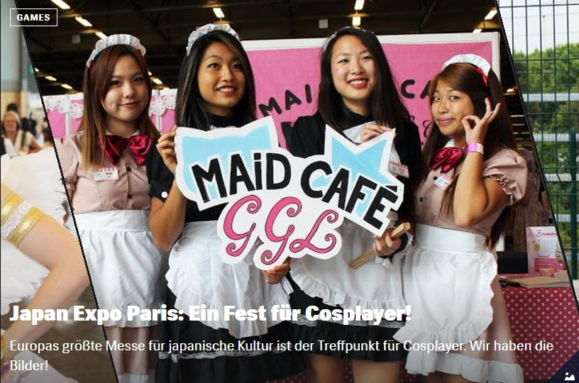 Ulrich Wimmeroth - Japan Expo Paris - Cosplay Bildergallerie - Red Bull