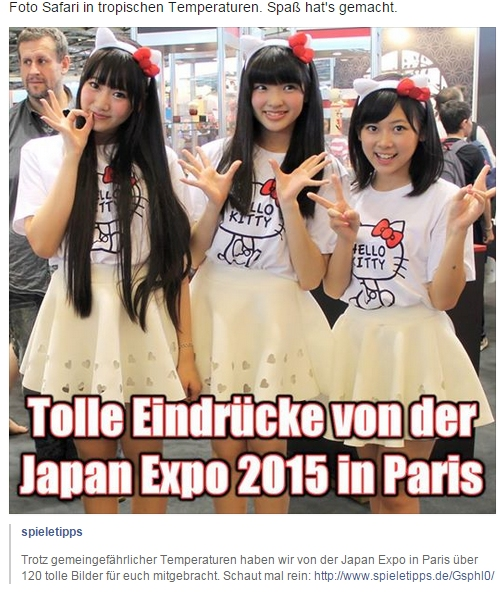 Ulrich Wimmeroth - Japan Expo Paris - Spieletipps.de