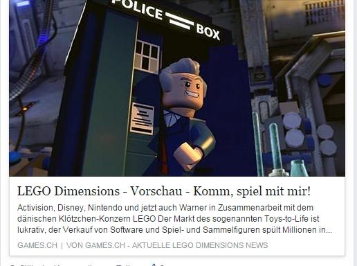 Ulrich Wimmeroth - LEGO Dimensions angespielt - games.ch