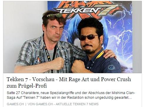 Ulrich Wimmeroth - Tekken 7 - games.ch