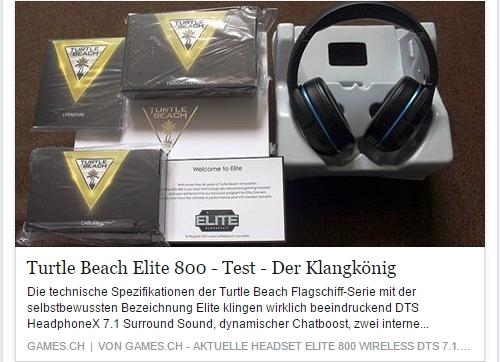 Ulrich Wimmeroth - Turtle Beach Elite 800 im Test - games.ch