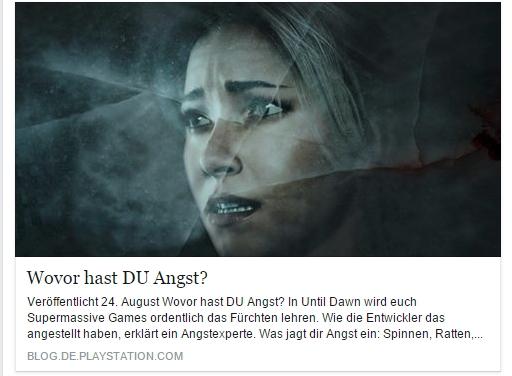 Ulrich Wimmeroth - Until Dawn Angstexperte - Playstation Blog