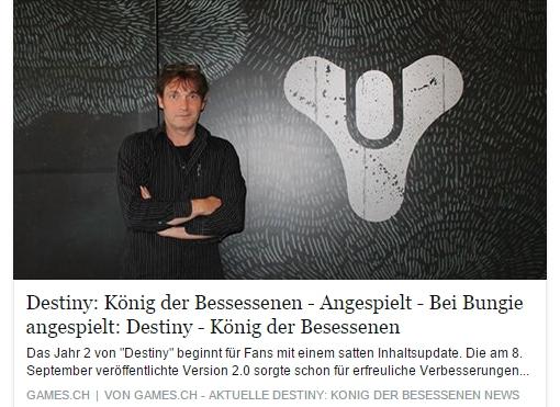 Ulrich Wimmeroth - Destiny Koenig der Besessenen - games.ch
