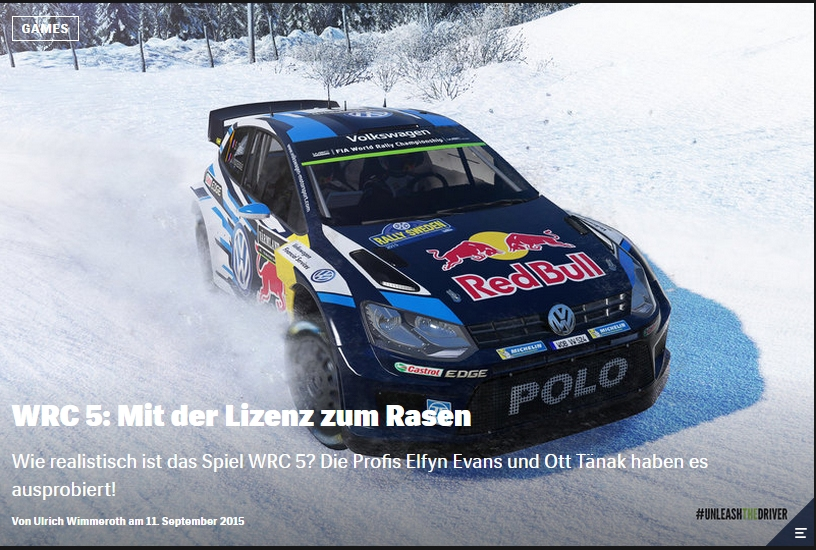 Ulrich Wimmeroth - WRC 5 - Red Bull
