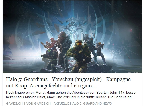 Ulrich Wimmeroth - Halo 5 Guardians - games.ch