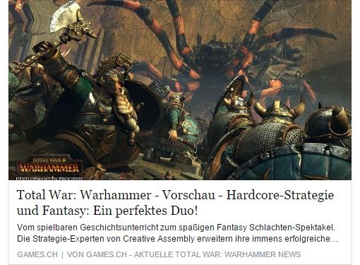 Ulrich Wimmeroth - Total War Warhammer - Games.ch