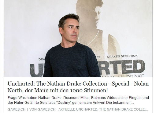 Ulrich Wimmeroth - Uncharted Collection Nolan North Special - games.ch