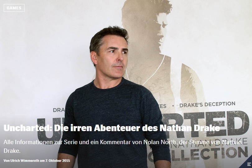 Ulrich Wimmeroth - Uncharted - Die irren Abenteuer des Nathan Drake - Red Bull Games