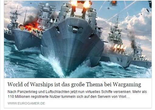 Ulrich Wimmeroth - World of Warships - Eurogamer