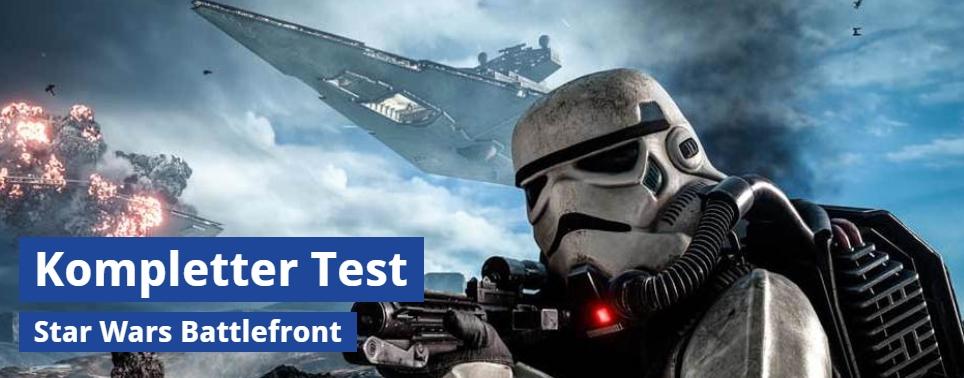 Ulrich Wimmeroth - Star Wars Battlefront - spieletipps.de