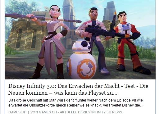 Ulrich Wimmeroth - Disney Infinity - Das Erwachen der Macht - games.ch