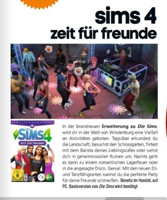 Ulrich Wimmeroth - Sims 4 Zeit fuer Freunde - kinoundco