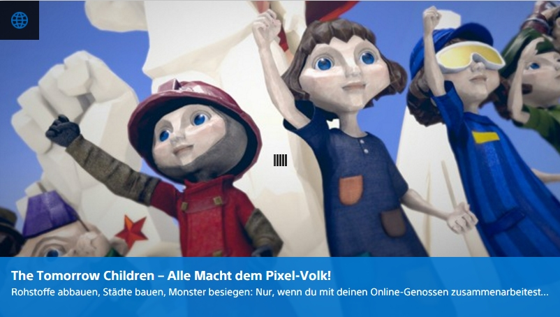 Ulrich Wimmeroth - The Tomorrow Children - Playstation Digi-Tal