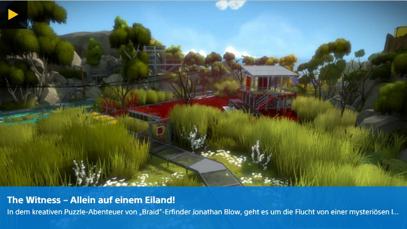 Ulrich Wimmeroth - The Witness - PSN Digital