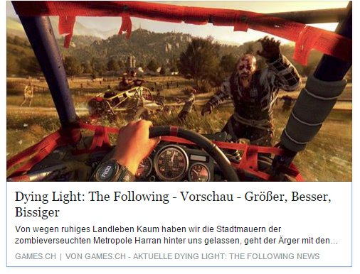 Ulrich Wimmeroth - Dying Light - The Following - games.ch