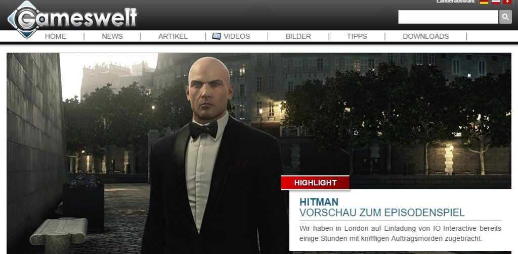 Ulrich Wimmeroth - Hitman - gameswelt