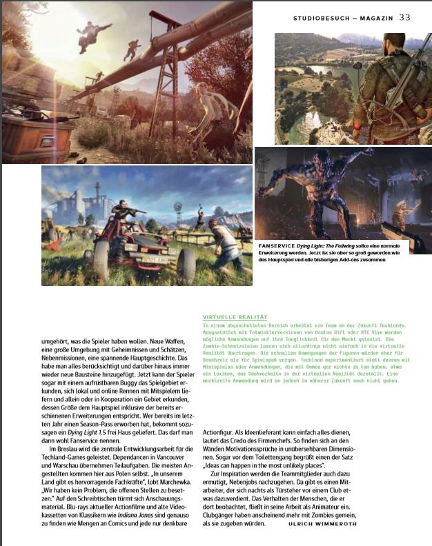Ulrich Wimmeroth - Made in Techland - Seite 1 - gamesmarkt