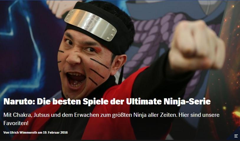 Ulrich Wimmeroth - Naruto - Die besten Spiele der Ultimate Ninja Reihe - Red Bull Games