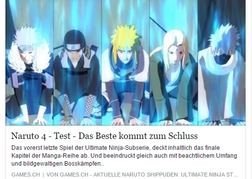 Ulrich Wimmeroth - Naruto Shippuden Ultimate Ninja Storm 4 - games.ch