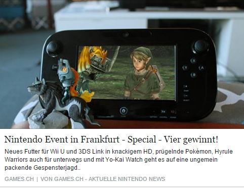 Ulrich Wimmeroth - Nintendo Event Bericht 2016 - games.ch