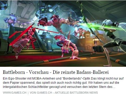 Ulrich Wimmeroth - Battleborn die Badass-Ballerei - Interview mit Tommy Tallarico - games.ch