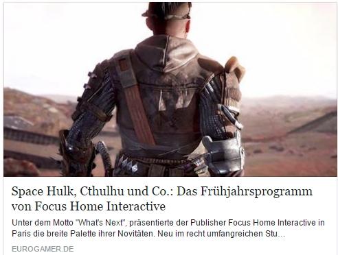Ulrich Wimmeroth - Focus Home Entertainment - Vampyr - The Surge - eurogamer.de