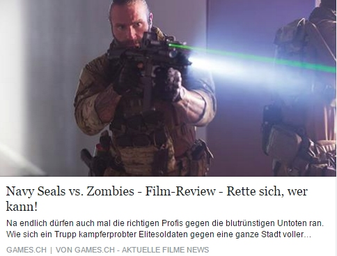 Ulrich Wimmeroth - NAVY Seals vs. Zombies - games.ch