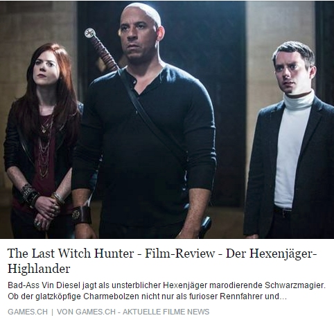 Ulrich Wimmeroth - The Last Witchhunter - games.ch