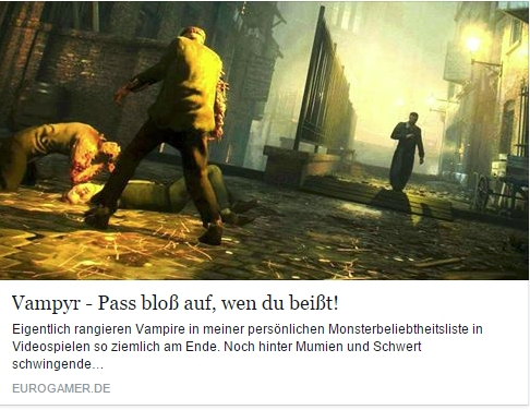 Ulrich Wimmeroth - Vampyr - Vorschau - eurogamer.de