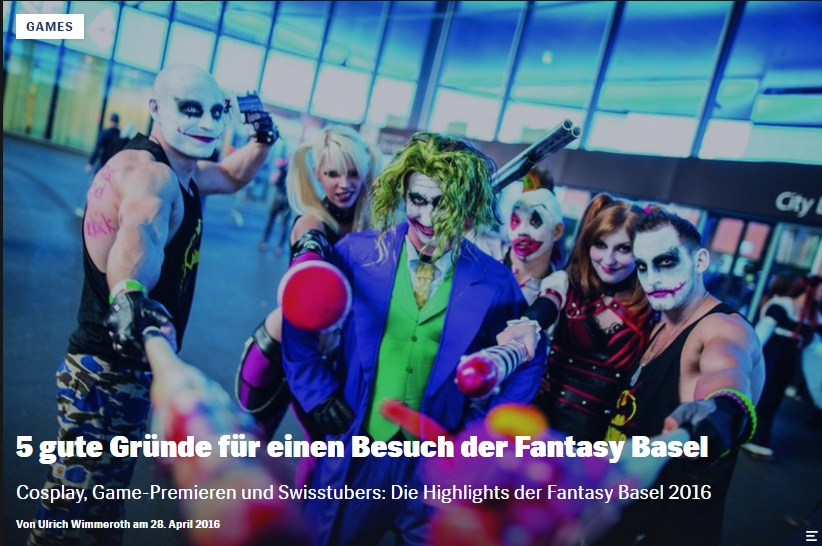 Fantasy Basel - Ulrich Wimmeroth - Red Bull Games