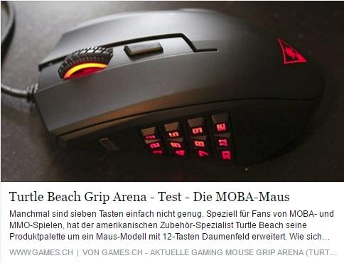 Turtle Beach Grip Arena - Ulrich Wimmeroth - games.ch