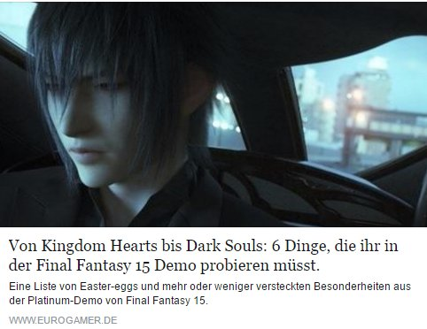 Ulrich Wimmeroth - Final Fantasy Platinum Demo Secrets - eurogamer.de