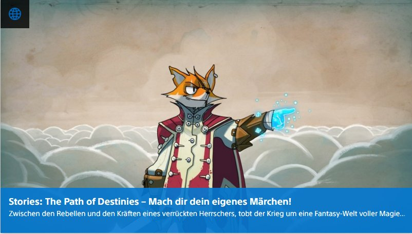 Ulrich Wimmeroth - Stories The Path of Destinies - Playstation Digital