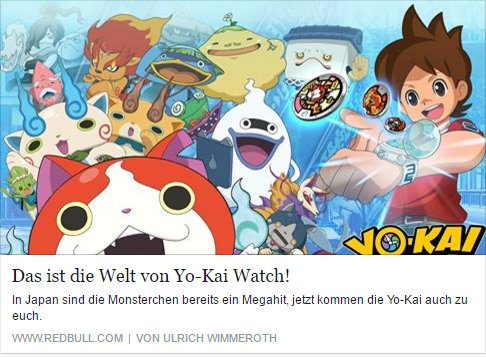 Ulrich Wimmeroth - Yo-Kai Watch - Red Bull