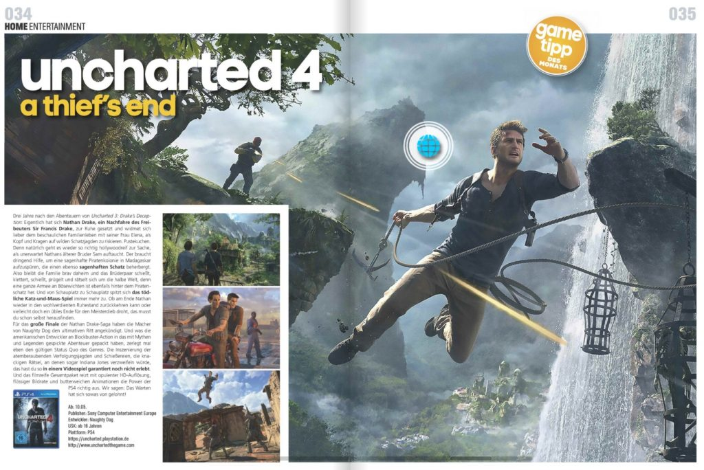 Uncharted 4 - Kino und Co - Ulrich Wimmeroth