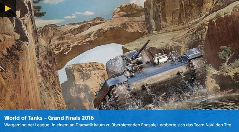 World of Tanks Gand Finale 2016 - Eventbericht - Ulrich Wimmeroth - PlayStation Digital