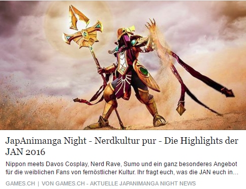JapAniManga Night 2016 - Ulrich Wimmeroth - games.ch