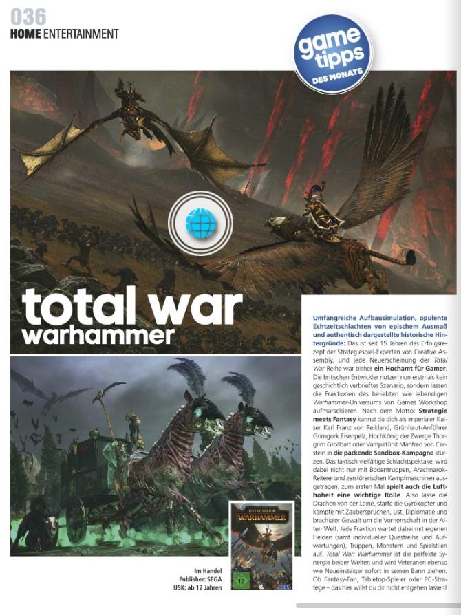 Total War Warhammer - Ulrich Wimmeroth - Kino und Co