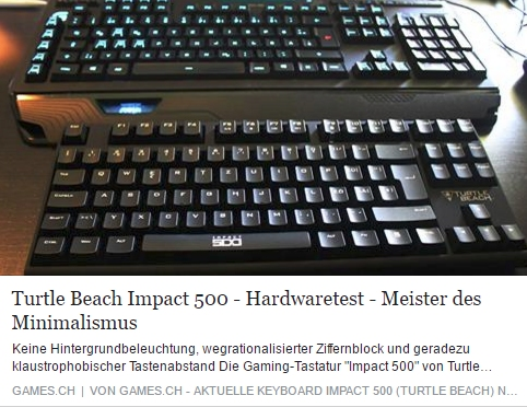 Turtle Beach Impact 500 - Ulrich Wimmeroth - games.ch