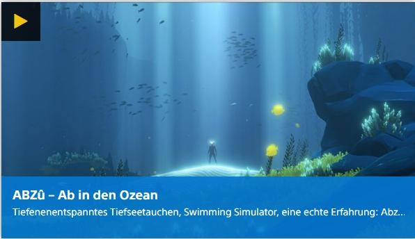 Digital Playstation - Abzu - Ab in den Ozean - Ulrich Wimmeroth