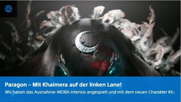 Digital Playstation - Paragon - Mit Khaimera auf der linken Lane - Ulrich Wimmeroth