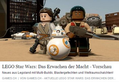 Games.ch - Lego Star Wars Das Erwachen der Macht# - Ulrich Wimmeroth