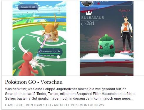 Games.ch - Pokemon Go Vorschau - Ulrich Wimmeroth