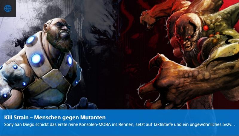 PlayStation Digital - Kill Strain - Menschen gegen Mutanten - Ulrich Wimmeroth
