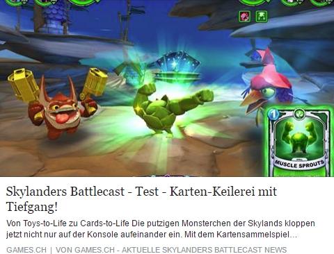 Skylanders Battlecast- Ulrich Wimmeroth - games.ch